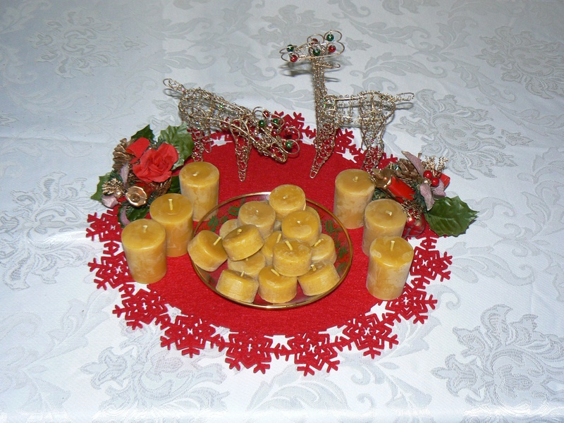 Beeswax Votives and Tealights